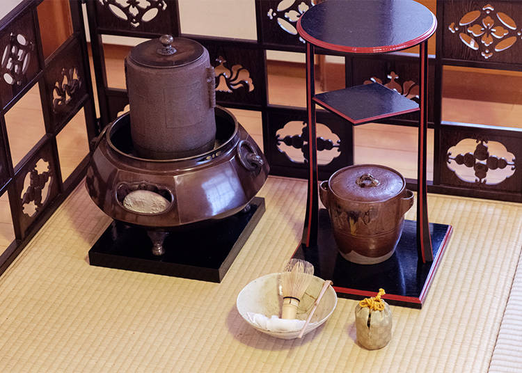 An Unexpected Element of tea ceremony: Observing the Beauty