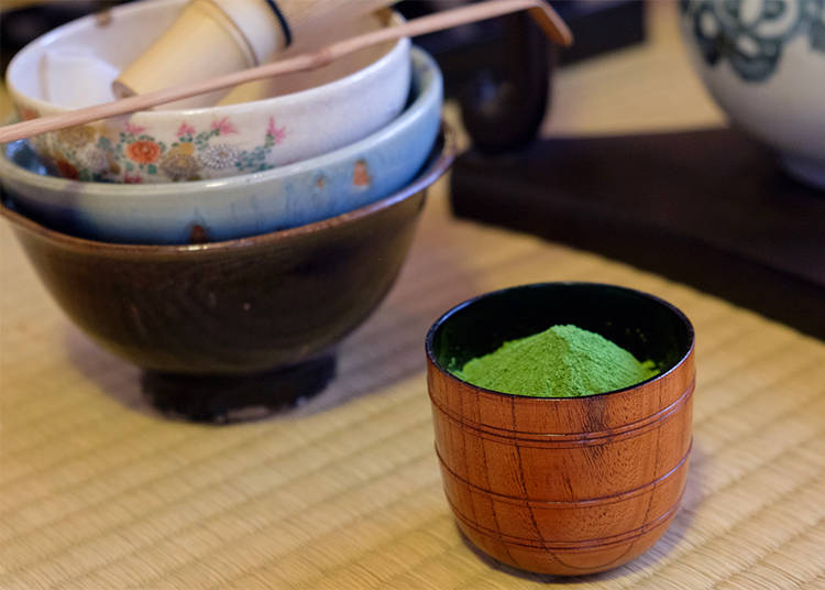 Finishing the Japanese Tea Ceremony