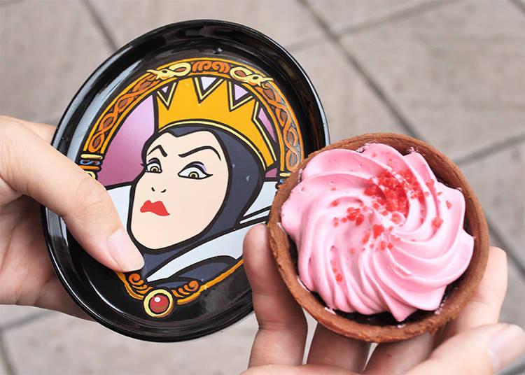 7.Chocolate Tart à la Evil Queen & Souvenir Plate