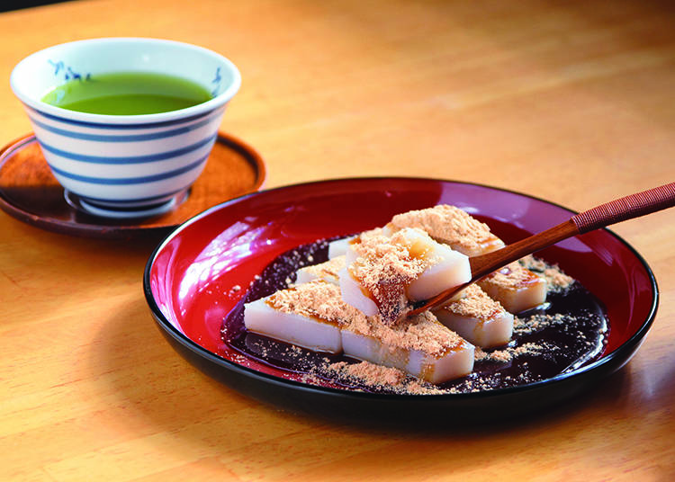 2. Kameido -  Kudzu mochi from Funabashiya