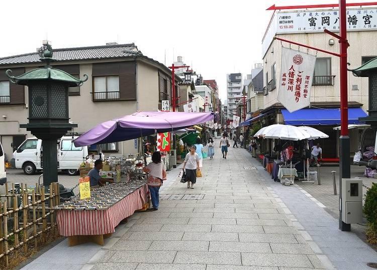 Kiyosumi-Shirakawa and Monzen-Nakacho: A Marriage of Old and New