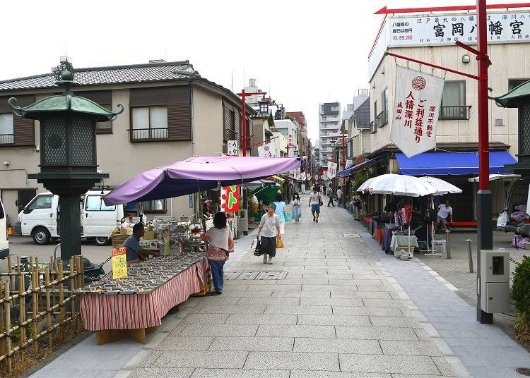 1. Kiyosumi-Shirakawa and Monzen-Nakacho: A Marriage of Old and New