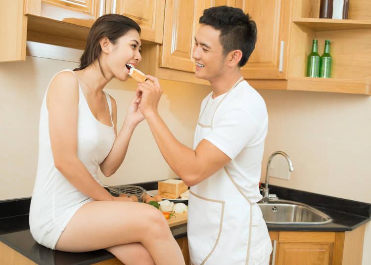 2:「結婚前に同棲は普通」にびっくり!