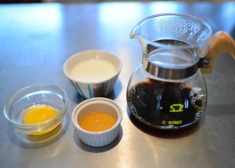 オーストラリア:(卵黄が入ったプリンのような後味「カイザーメレンゲ」