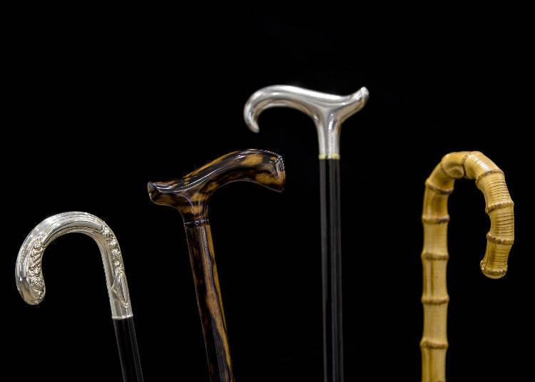日本第一家手杖專賣店!「銀座TAKAGEN」