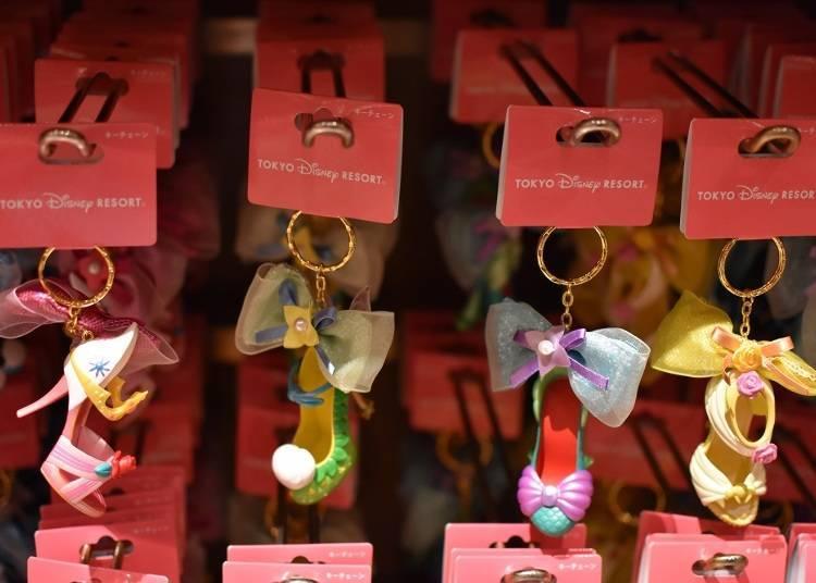 Disney Princess' High Heels Keychains