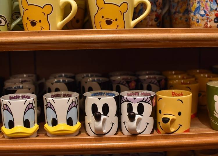 Classic Character Mugs (With Nose!)