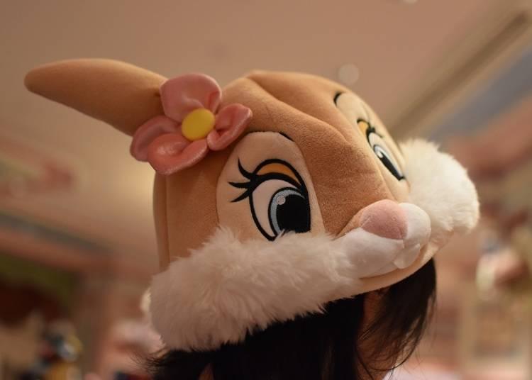 各種迪士尼卡通造型玩偶帽子