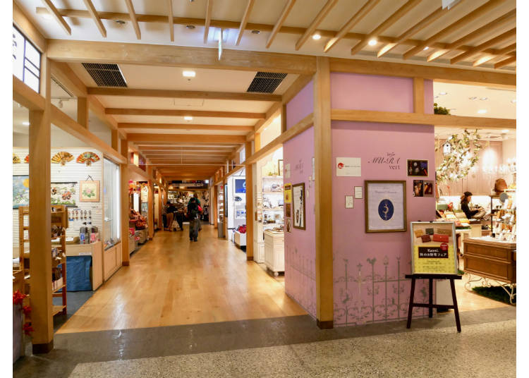 4th Floor: Japanese Souvenirs, TV Characters, and Restaurants