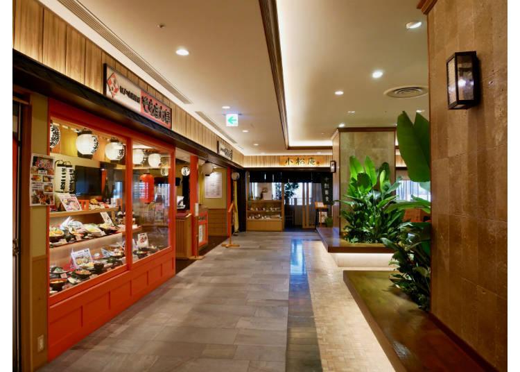 6F & 7F 聚集了日本的代表性料理與地方特色料理的專門店