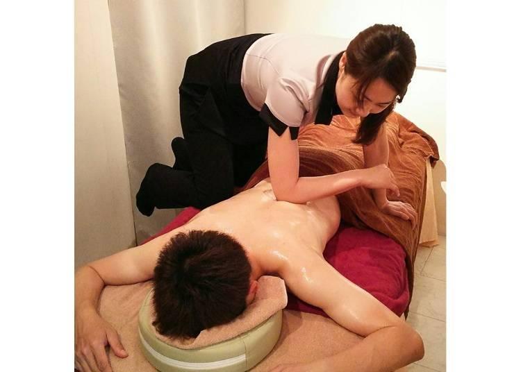 Seitai Hanzou: Massage all the Tension Away!