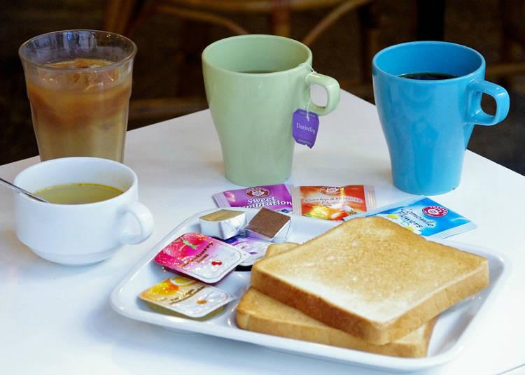350日元小窃喜自助式早餐