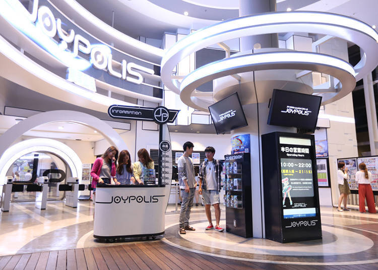 Tokyo Joypolis: the Most Exciting Indoor Amusement Park You've Ever Seen!