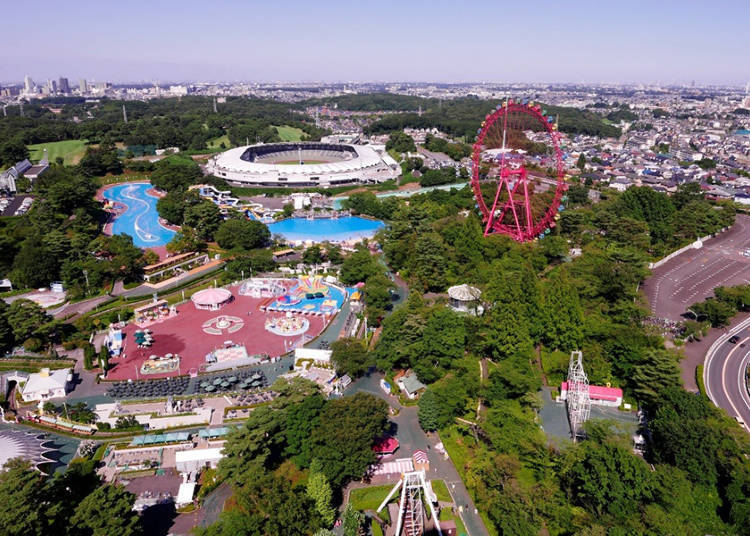 Seibuen Amusement Park: Spectacular Views from the Ferris Wheel and the Rotating Observation Deck!