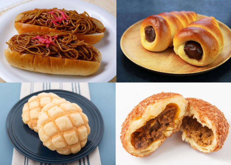 Noodle sandwiches and more! You won't believe these 5 original bakery delights from Japan