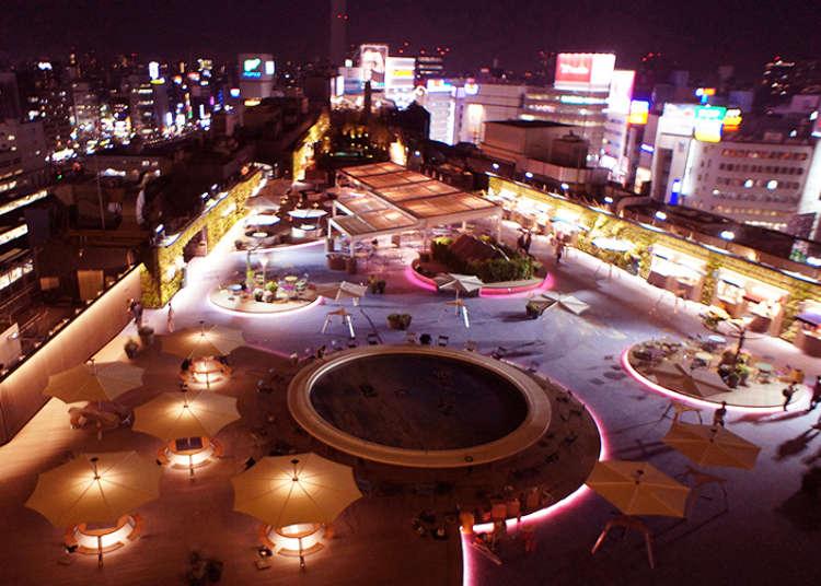 「屋上」がすごいことになってる!魅力的すぎる東京の百貨店・商業施設の屋上まとめ
