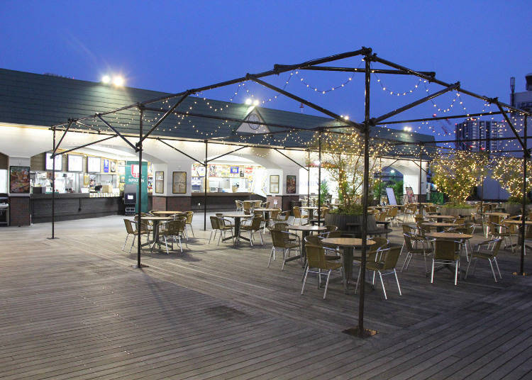 Tobu Department Store Ikebukuro: Relax and Enjoy Yourself on the Sky Deck Square