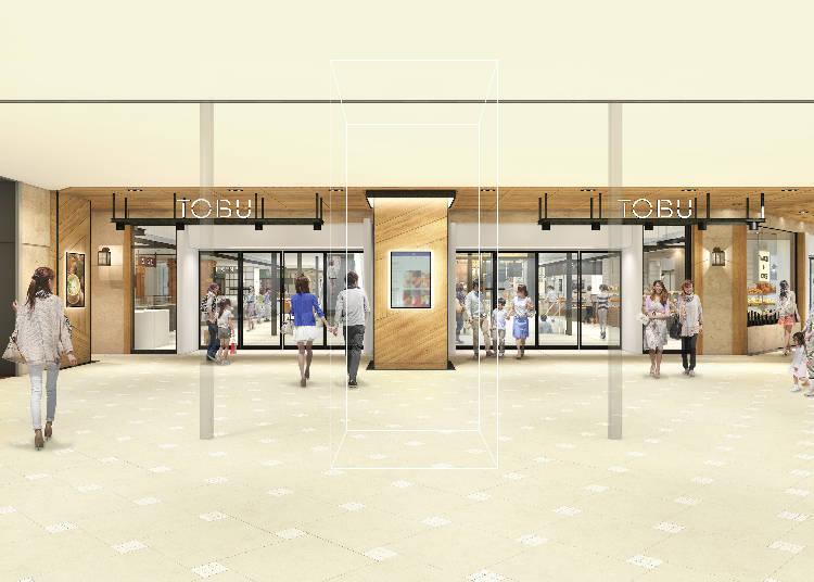 美食街(地下一樓 8~11番地)全面翻新! 池袋店的新「美食空間」誕生