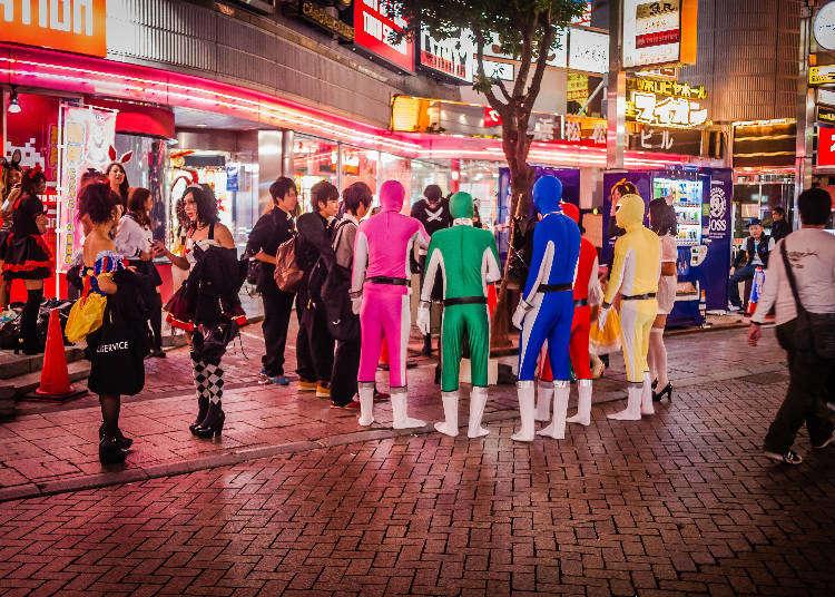 独自に進化する日本のハロウィン