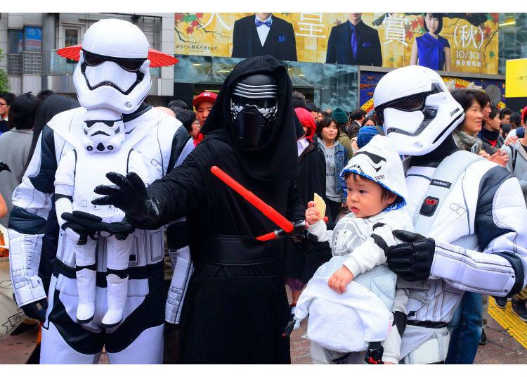 ハロウィンの渋谷はお祭り騒ぎ