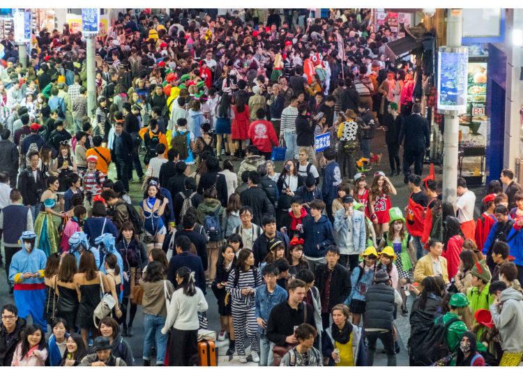 日本のハロウィンは仮装祭り!?