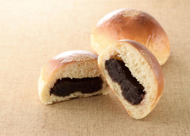 スイーツ系菓子パンも人気!あんやクリームのクオリティの高さが好評価