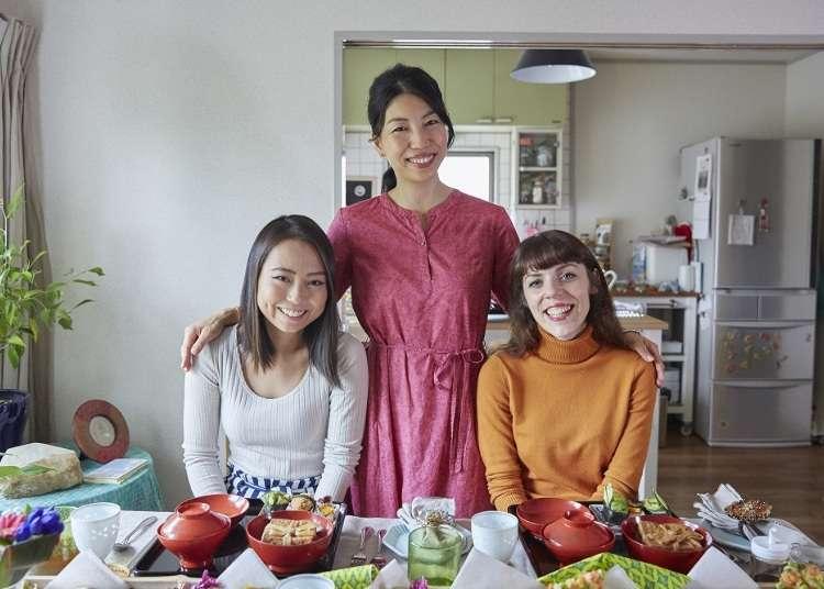 訪日旅行が体験型に進化!日本の家庭で料理を学ぶ「Tadaku」のレッスンを英国人と台湾人が初体験