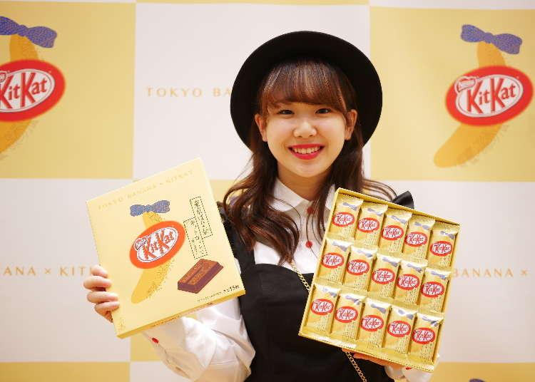 最強伴手禮誕生!?東京芭奈奈(Tokyo Banana) x KitKat 聯名新商品 搶先看