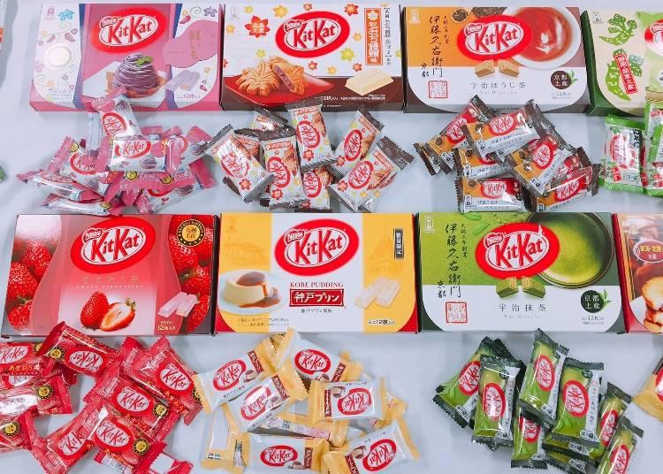 KitKat 必勝法則!累積超過 300 種的地域和期間限定商品 永遠給人新驚喜