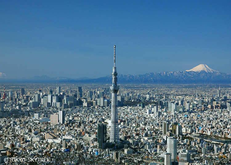 【東京晴空塔】、【晴空街道商店街】