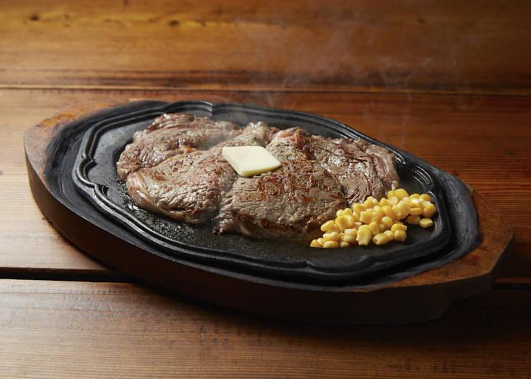 『リベラ』のステーキを、アントニーが実食!