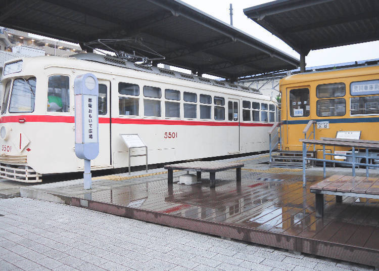 (Arakawa-shakomae Station) Exploring the Toden Memorial Square