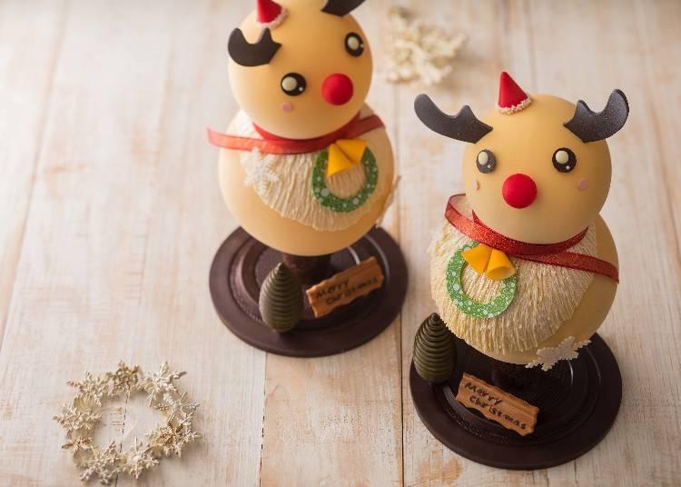 『限定20台』今年はトナカイに変身!雪だるま型ケーキシリーズ/ザ・キャピトルホテル 東急