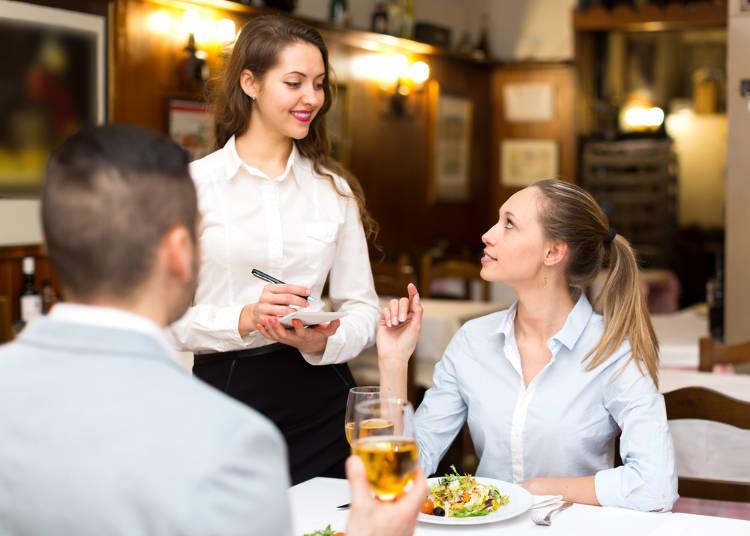 6.レストランで、「すみません」と言いにくい…。それ失礼じゃないの?