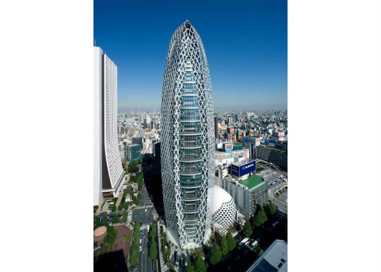 9. 像巨大的「蟲繭」的建築物?
