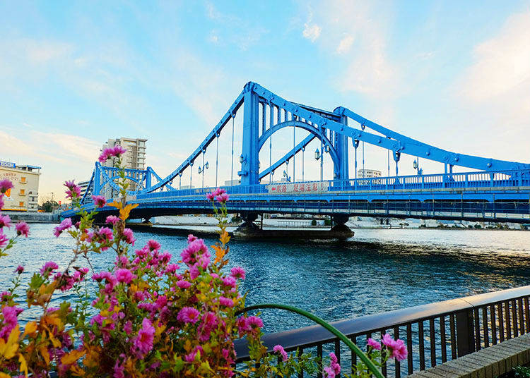 走上近百年歷史的歐風工藝之橋「清洲橋」 感受獨特的異國浪漫