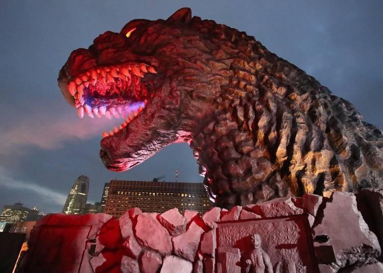 2. The Shinjuku TOHO Building - Say Hello to Godzilla!