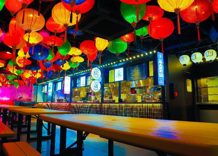 8. Sanagi Shinjuku – The Area's Most Colorful Event Space