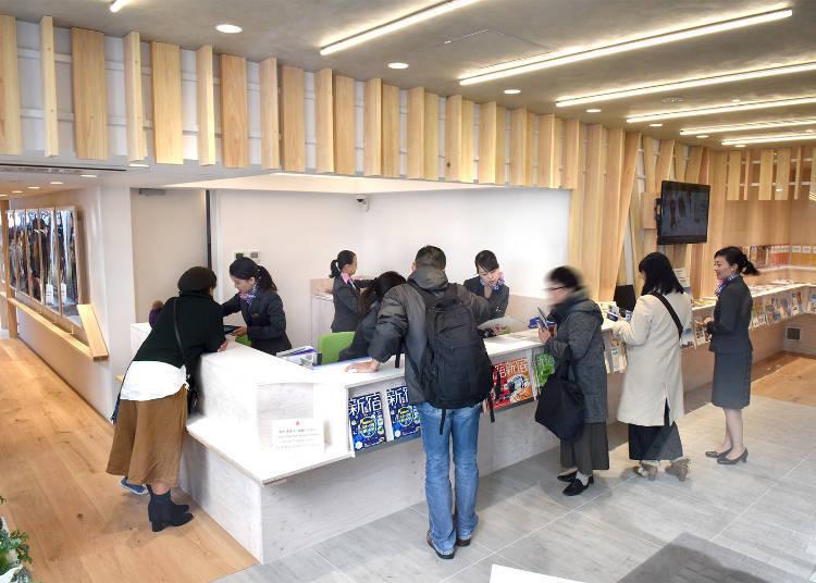 10. Shinjuku Tourist Information – The Savior Spot Whenever You Get Lost