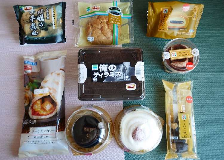 日本11月便利商店新商品推薦 奢華巧克力蛋糕、超香焦糖泡芙、牡蠣御飯糰.....多樣選擇一次滿足
