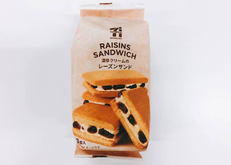10. Rich Cream Raisin Sandwich