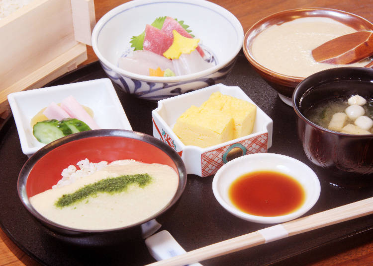 Eating with Kids 2: Take the Elevator to Asakusa Mugitoro's Second Floor!