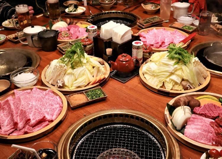 享用和牛大餐「ろぐ亭Logtei」晚餐