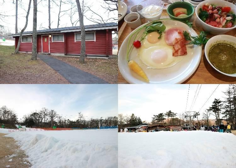 享受冬季最有人氣的滑雪活動「輕井澤王子大飯店滑雪場
