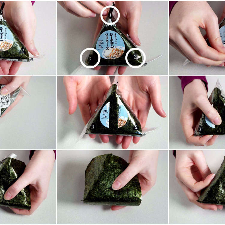 [MOVIE] How to Open Convenience Store Onigiri - You Won't Need to Struggle with It Anymore