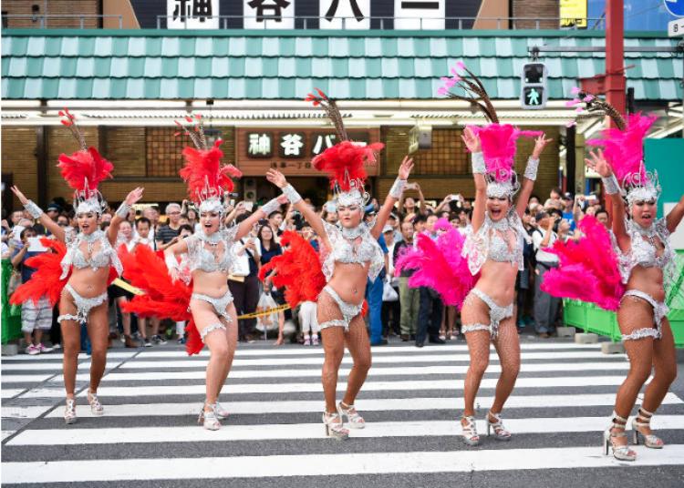 第37回浅草サンバカーニバル パレードコンテスト