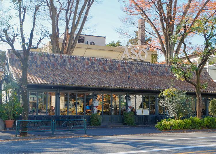 代官山最美最優雅的咖啡館 Caffè Michelangelo (米開朗基羅咖啡廳)