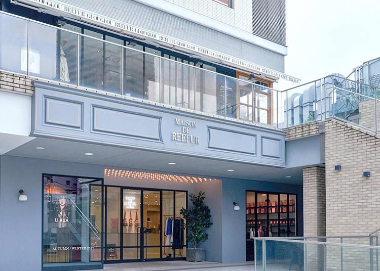 喜愛流行時尚的女孩與媽咪們必訪! 日本時尚女神梨花的生活雜貨選物店「MAISON DE REEFUR」、時尚咖啡廳「GLOUGLOU REEFUR」