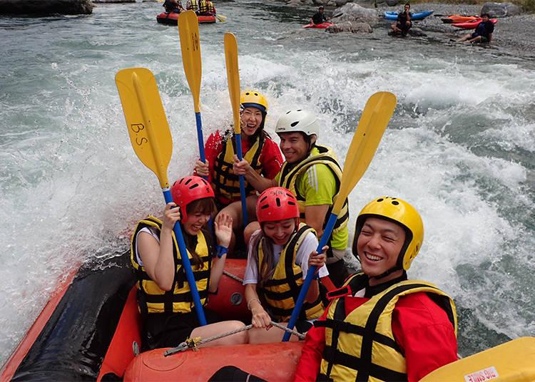 Rafting at Okutama: You'll Definitely Get Wet!