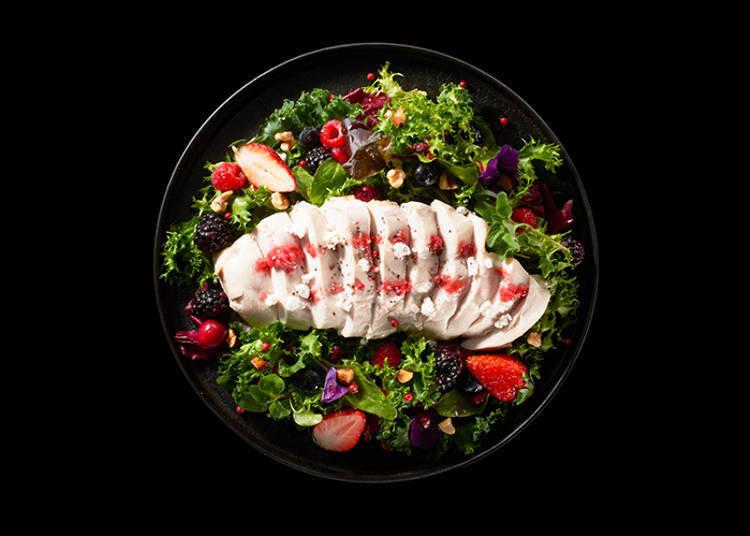 2017年的年度菜肴-「鸡胸肉料理」!
